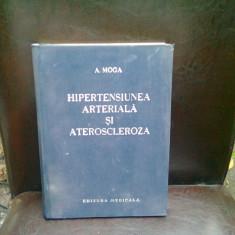 HIPERTENSIUNEA ARTERIALA SI ATEROSCLEROZA - A. MOGA - Carte Cardiologie