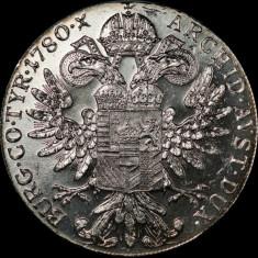 REBATERE MONEDA ARGINT Thaler - Maria Theresia, anul 1780 *cjaCOD 54 UNC!!!, Europa