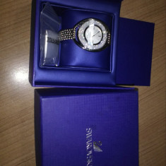 Ceas Swarovski Crystalline oval de dama - Ceas dama Swiss Legend, Quartz