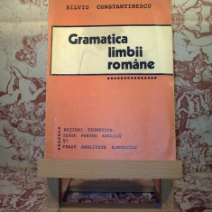 Silviu Constantinescu - Gramatica limbii romane