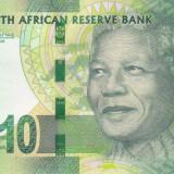 Bancnota Africa de Sud 10 Rand (2012) - P133 UNC