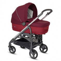 Carucior Trilogy System Comfort Touch 3 in 1 Ruby Red - Carucior copii 2 in 1 Inglesina