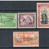 Samoa de Vest, colonii engleze, 1946, supratipar, MNH**, Nestampilat