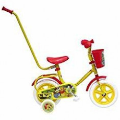 Bicicleta Disney cu maner Winnie The Pooh 10 inch - Bicicleta copii