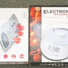 Cantar bucatarie de la 1g la 5kg  afisaj electronic cu functie tara