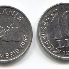 10 lei 1991 - Moneda Romania