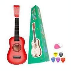 Chitara clasica din lemn pentru copii 63 cm