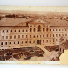 Carte postala - Lugoj - Palatul prefecturii - Carte Postala Banat dupa 1918, Circulata, Printata
