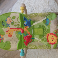 Balansoar Fisher-Price 2 in 1 Infant to Toddler Rainforest Friends - Balansoar interior Fisher Price, Verde