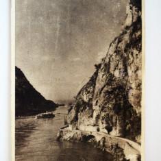 Carte postala - Dunarea la Cazane - Carte Postala Banat dupa 1918, Circulata, Printata
