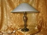 Veioza sculptura bronz, stil Baroc Victorian, colectie, cadou, vintage
