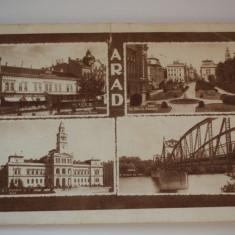 Carte postala - Arad - Carte Postala Banat dupa 1918, Circulata, Printata