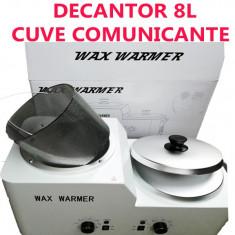 Decantor/incalzitor ceara 8L cuve comunicante