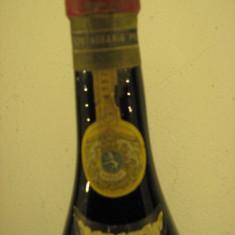 Vin vechi de colectie, rare BAROLO, sticla 4337, recoltare 1955 cl 72 gr 13, 5 - Vinde Colectie, Aroma: Sec, Sortiment: Rosu, Zona: Europa