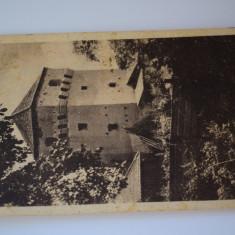 Carte postala - Poza - Sibiu - Turn de fortificatie - Carte Postala Banat dupa 1918, Circulata, Printata