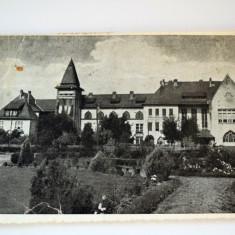 Carte postala - Scoala normala de conducatoare - campulung moldovenesc - Carte Postala Banat dupa 1918, Circulata, Printata
