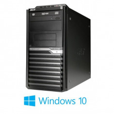 PC Refurbished Acer Veriton M4620G, Core i3-3220 Gen 3, Win 10 Home - Sisteme desktop fara monitor Acer, Windows 10