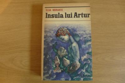 Insula lui Artur     de Elsa Morante -roman- foto