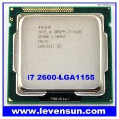 Procesor Intel Sandy Bridge, Core i7 2600 3.40GHz, soket 1155, garantie - Procesor PC Intel, Intel Core i7, Numar nuclee: 4, Peste 3.0 GHz