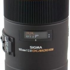 Obiectiv Sigma Canon 105/2.8 EX DG OS HSM Macro - Obiectiv DSLR