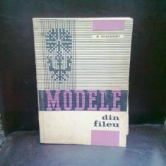 MODELE DIN FILEU, ELISABETA IOSIVONI