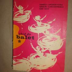 Ghid de balet 378pag/an 1973- Daniela Caraman Fotea - Carte Arta dansului