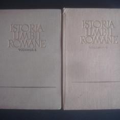 AL. ROSETTI, AL. GRAUR - ISTORIA LIMBII ROMANE 2 volume - Eseu