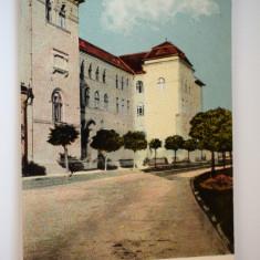 Carte postala - Arad - Internatul Diecezan - Carte Postala Banat dupa 1918, Circulata, Printata