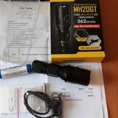 Lanterna Led Nitecore MH20GT factura garantie 59 luni
