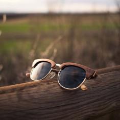 Ochelari de soare Gold Lans Walnut