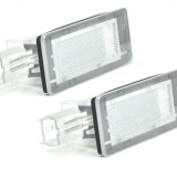 Lampi numar led Dacia Duster (2010-), Logan MCV (2013 -), Lodgy (2012-) - Led auto