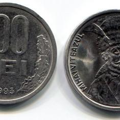 100 lei 1993