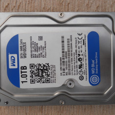 HDD 1 Tb 3, 5 inch Western Digital Blue Sata3 6Gb/s 64MB Cache. - Hard Disk Western Digital, 1-1.9 TB, Rotatii: 7200