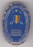 Insigna Uniunea Nationala a Cadrelor Militare in Rezerva si in Retragere