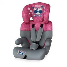 Scaun Auto Junior 9-36 kg 2017 Pink Kitty - Inaltator auto