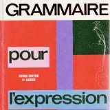 GRAMMAIRE POUR L'EXPRESSION COURS MOYEN 2e ANNEEde L. LEGRAND