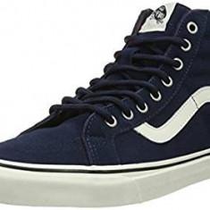 Adidasi Vans Unisex Adults' Sk8 Reissue Hi-Top marimea 41 - Adidasi barbati Vans, Culoare: Albastru, Piele intoarsa