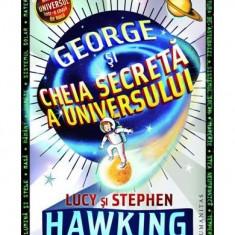 George si cheia secreta a universului - Lucy si Stephen Hawking - Carte personalizata