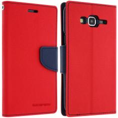 Husa Samsung Galaxy J3 2016 - My-Fancy Rosu-Albastru - Husa Telefon