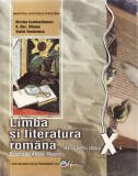 LIMBA SI LITERATURA ROMANA. MANUAL PENTRU CLASA A XI A SAM de N. CONSTANTINESCU