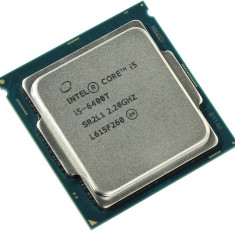 Procesor Intel Core i5-6400T, 2.2 GHz/Turbo 2.8Ghz, 35 Wati Socket LGA 1151 - Procesor PC Intel, Numar nuclee: 4, Peste 3.0 GHz