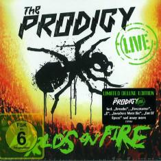 Prodigy The Live Worlds On Fire digi (cd+dvd) - Muzica Dance