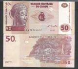 CONGO  50  FRANCI  FRANCS  2000  UNC  [1]  P-91  ,  necirculata