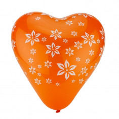 Balone colorate in forma de inima, set 100 de bucati - Decoratiuni petreceri copii