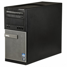 Dell Optiplex 990 Intel Core i5-2400 3.10 GHz 4 GB DDR 3 250 GB HDD DVD-RW Tower Windows 10 Pro - Sisteme desktop fara monitor