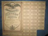 Actiuni vechi Romania-Imprumutul Intern-Titlu 2000 lei 1935. Stare foarte buna.