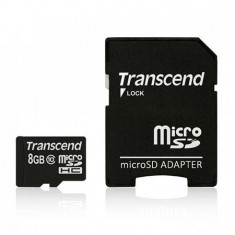 MICRO SD CARD 8GB CLS 10 TRANSCEND - Multimedia card