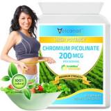 Picolinat de Crom 200 Mcg – Slabire, Reduce Pofta de Mancare si Dulce 60 Capsule