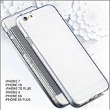 Husa Iphone 6 si 6 PLUS IPHONE 7 7 PLUS silicon 360 grade acopera tot telefonul, Alt model telefon Huawei, Transparent