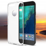 Husa GOOGLE Pixel XL silicon tpu transparenta, Alt model telefon Alcatel, Transparent, Gel TPU
